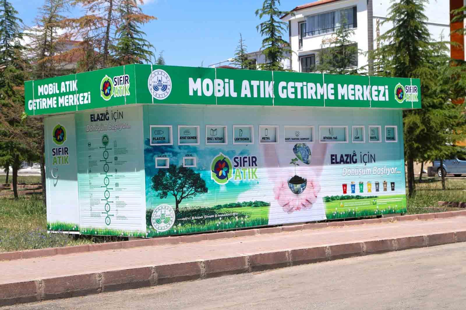 BELEDİYE'DEN MAHALLELERE MOBİL ATIK MERKEZİ