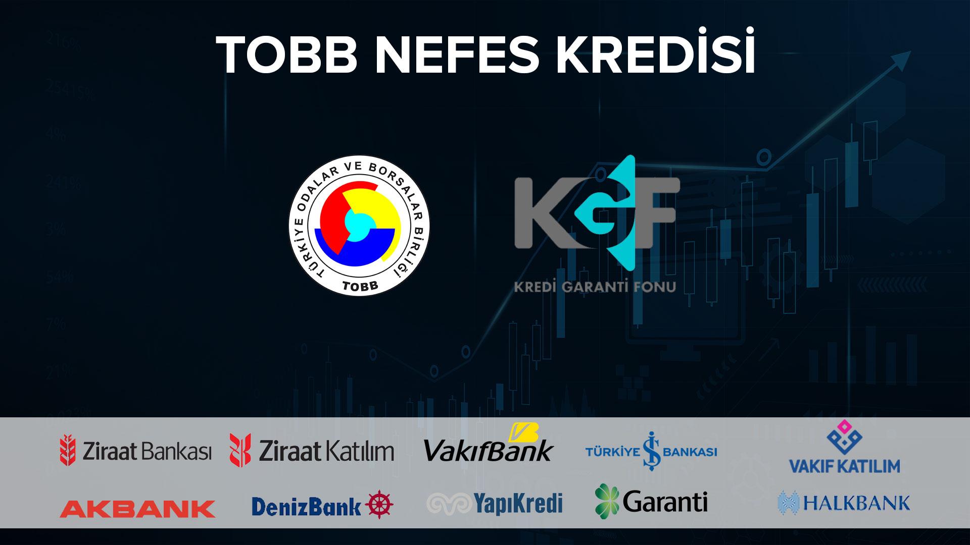 TOBB NEFES KREDİSİ'NDE DEĞİŞİKLİK YAPTI