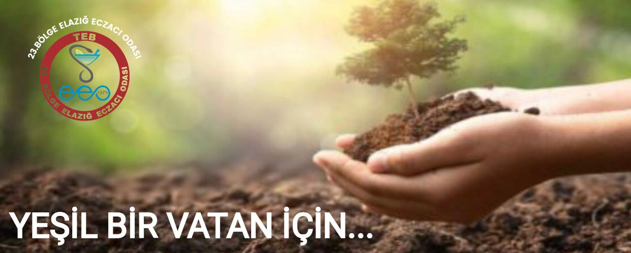 ECZACI ODASI'NDAN FİDAN BAĞIŞI…