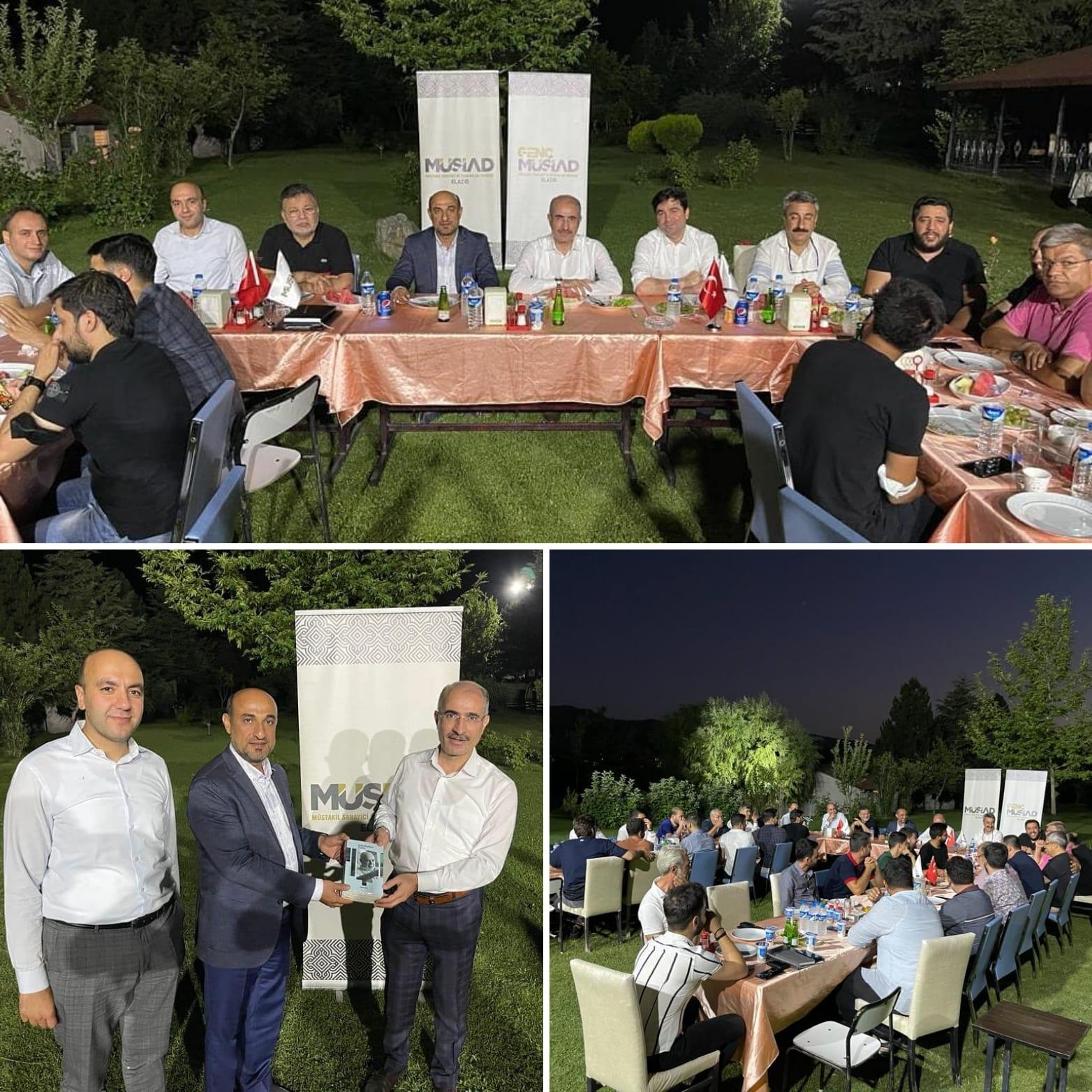 MÜSİAD'DAN BİRLİK BERABERLİK TABLOSU !!